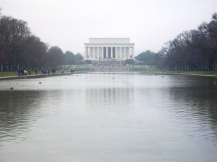 Reflecting Pond in front of the Lincoln Memorial Washington, DC