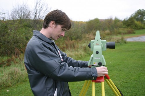 Surveying with the Leica Total Station (TCR1105)