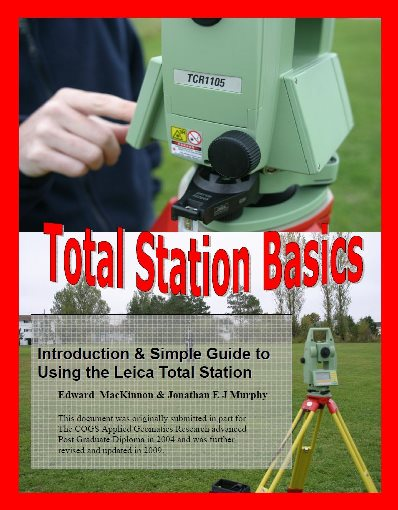 Leica Total Station (TCR1105) User Guide