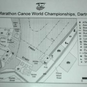 Marathon Canoe World Championships Site Map