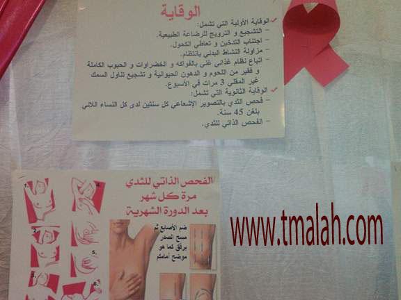 جمعية أمومة لمحاربة سرطان الثدي والرحم تفتتح الخيمة التواصلية للتوعية والتحسيس بالمرض/ مدونة أسماء التمالح