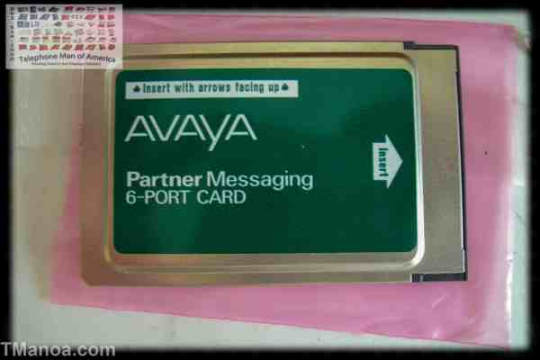Avaya Partner Messaging 6 Port PC Card