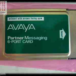 Avaya Partner Messaging 6 Port PC Card