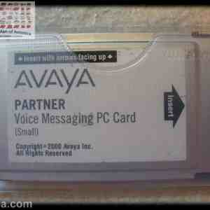 Avaya Partner Voice Messaging PC Card Small R3