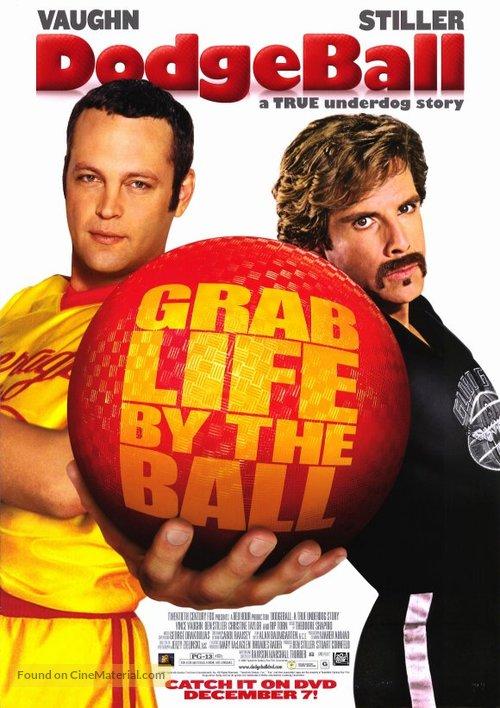 Dodgeball Movie Poster