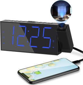 10 Useful Amazon Products: Projection Alarm Clock