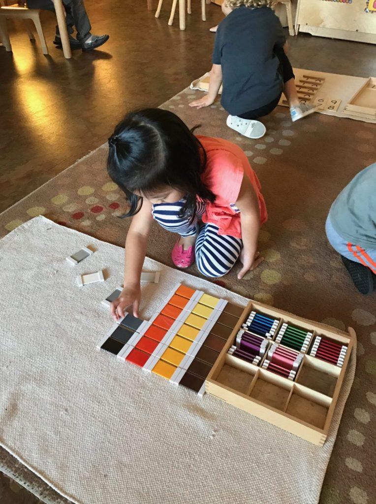 Early Childhood Color Box, The Montessori Academy of Arlington, Private School Arlington TX