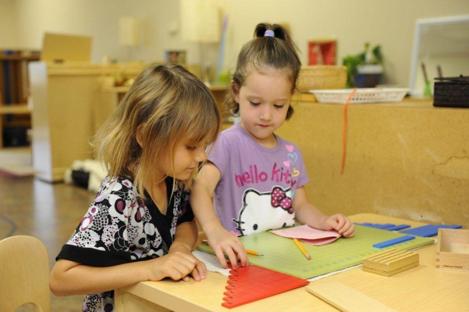 Early Childhood Work, The Montessori Academy of Arlington, Private School Arlington TX