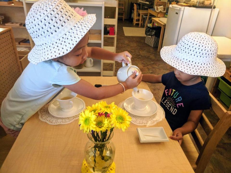 Grace and Courtesy at TMA, Montessori Private School