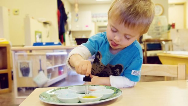 Toddler Program, Montessori Private School, Arlington TX