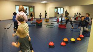 Early Childhood Motor Lab, Montessori Private School, Arlington TX