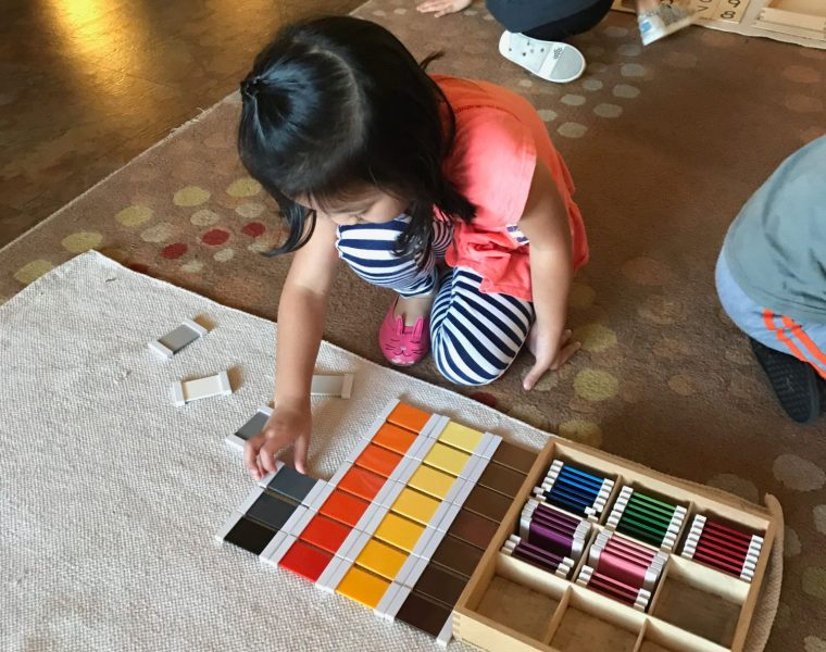 Early Childhood Color Box, Montessori Private School, Arlington TX