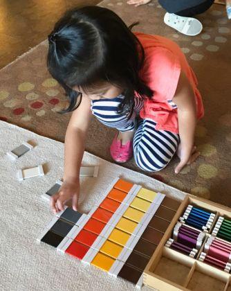 Early Childhood Color Box, Montessori Private School