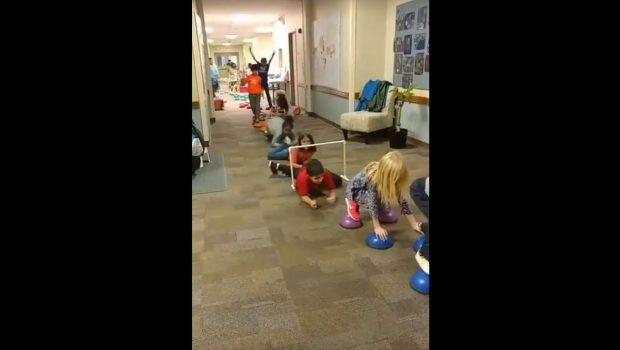 Elementary - Indoor Fitness Education, Montessori Private School, Arlington TX