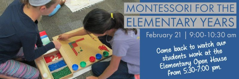 Montessori for the Elementary Years, Private School, Arlington TX