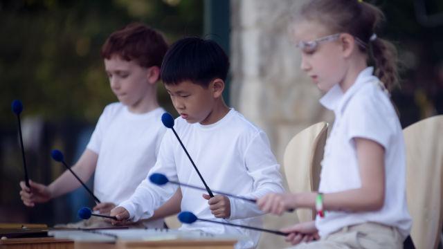 Stepping Up Ceremony and Music Program, The Montessori Academy of Arlington, Private School Arlington TX