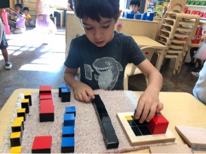 Early Childhood Trinomial Cube