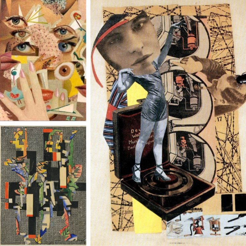 Art Montessori at Home Hannah Hoch