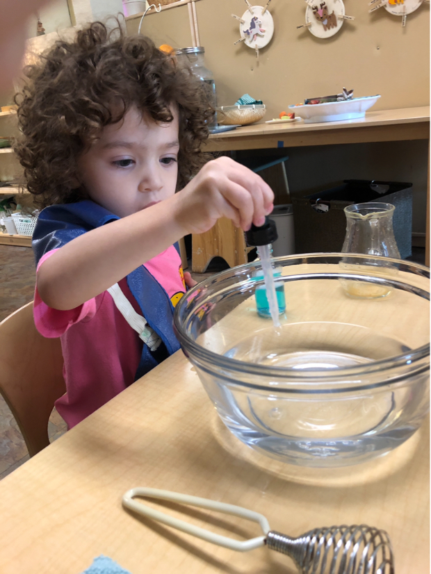 Early Childhood Bubble Whisking