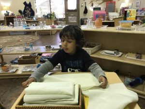 Early Childhood Practical Life Folding