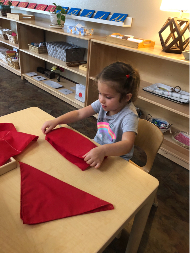 Early Childhood Practical Life Folding