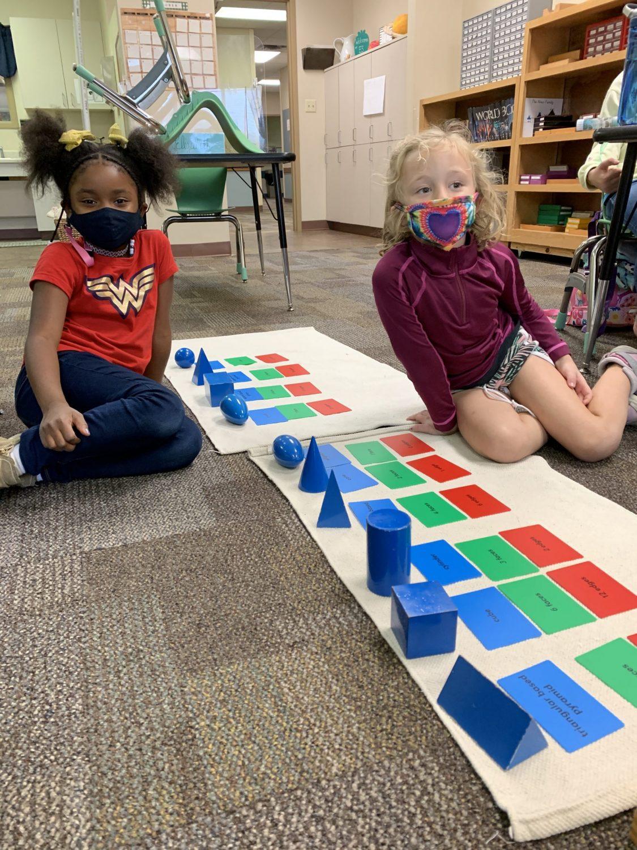 Lower Elementary Geometric Solids