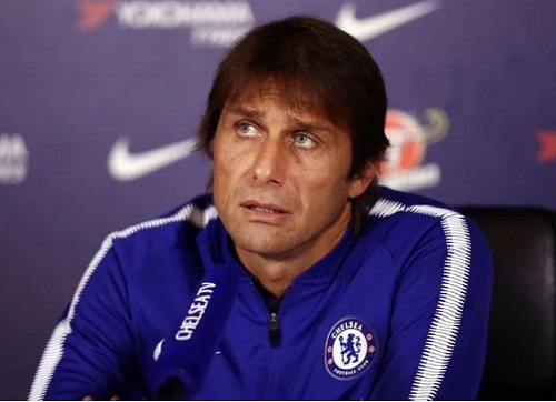 Chelsea vs Barcelona: Conte Reveals Why He Benched His Strikers, Morata & Giroud In 1-1 Draw