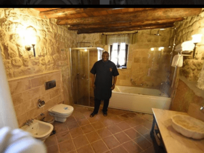 Image result for dele momodu flaunts his historic room in turkey