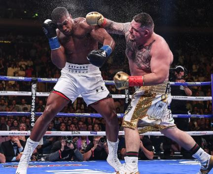 Andy Ruiz demands £40m for a rematch with Anthony Joshua in the UK