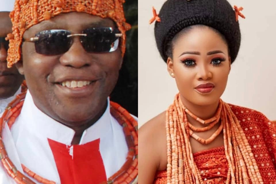 Oba Of Benin Welcomes New Princess With Queen Owamagbe On His Own Birthday And Coronation Anniversary