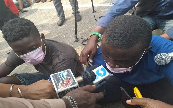 """Suspected Robber Says – """"I Stole To Raise Money To Feature Davido Or Runtown In My Music"""""""