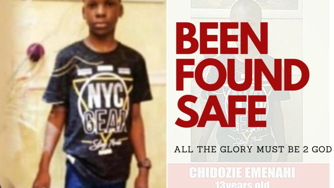Missing Autistic Boy Found Safe After One Week