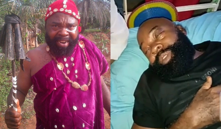 Nollywood Actor, Prince Emeka Ani Seriously Sick, Begs for Financial Help (Video/Photo)