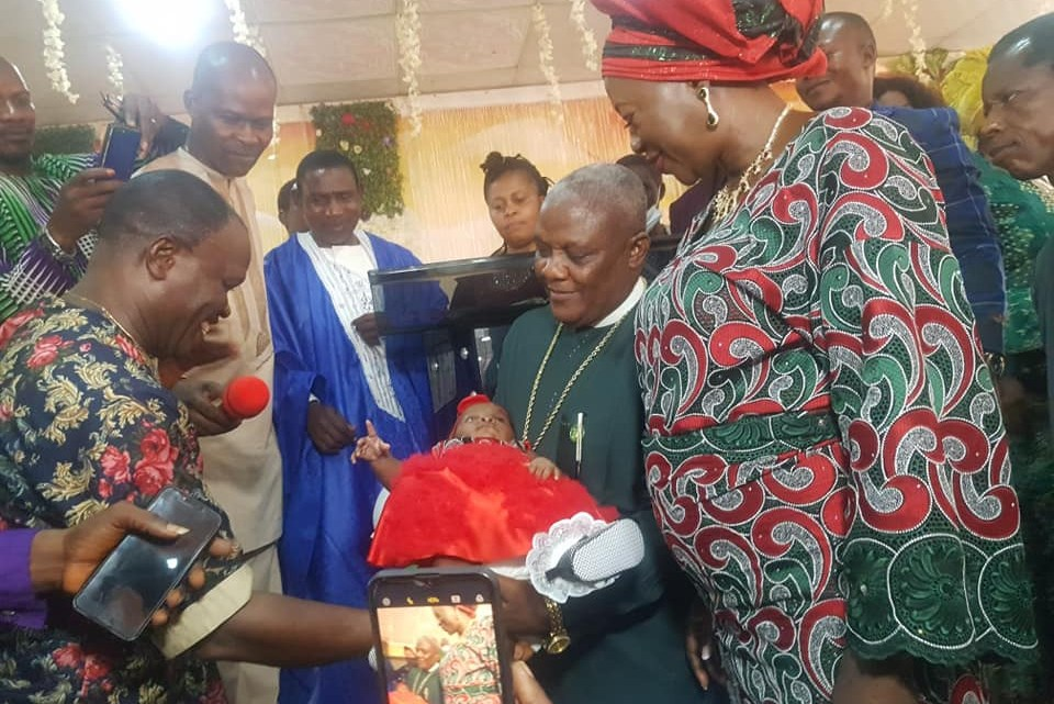Bishop And Wife Welcome First Child After 25 Years Of Marriage (photos)