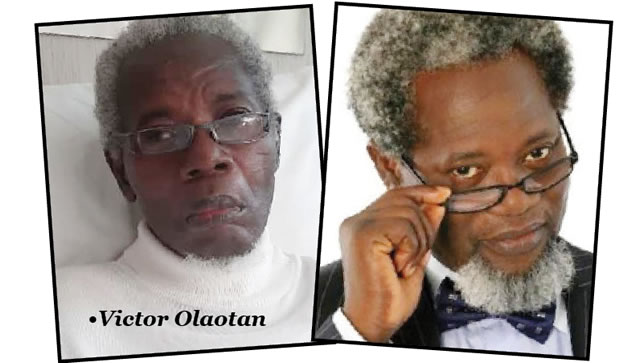 Wife Cries Out – The Hospital Treating Veteran Actor, Olaotan Is Threatening To Dump Him