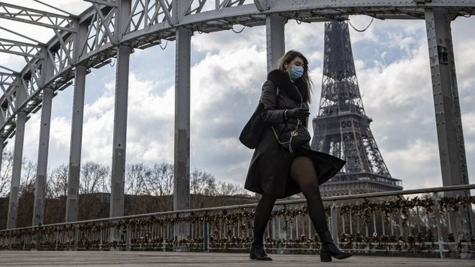 Covid: France and Poland increase lockdown measures as infections surge