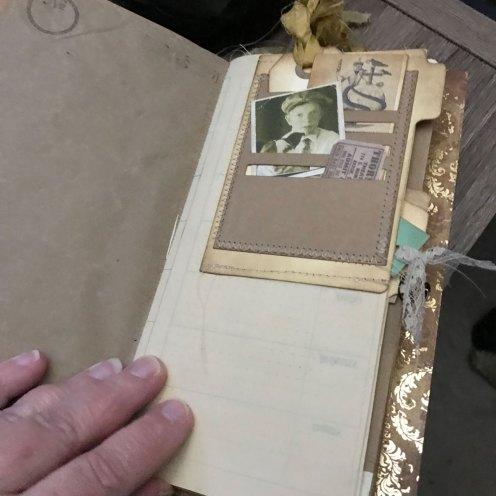 tuck spots in junk journal