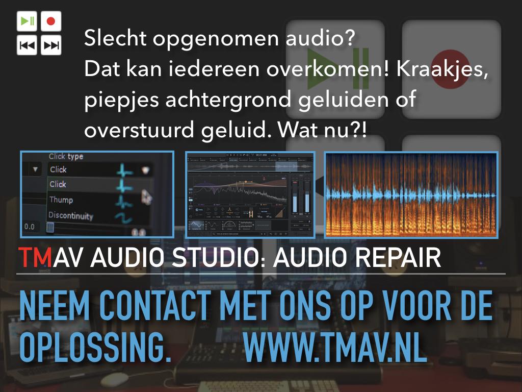 TMAV Studio Audio Repair