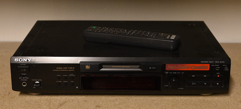 Sony MD speler 2