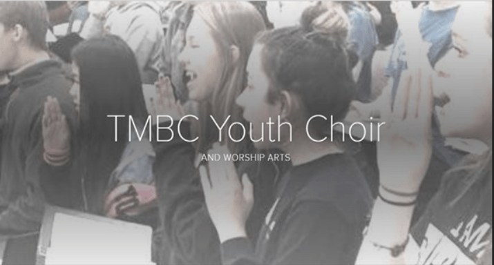 Youth Choir and Worship Arts