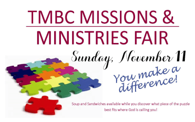 Missions and Ministry Fair