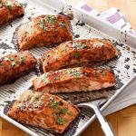 Salmon With Balsamic Honey Glaze Recipe How To Make It Taste Of Home