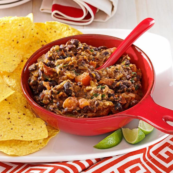 Warm Black Bean Dip Recipe How To Make It Taste Of Home