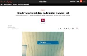 Fim do voto de qualidade pode mudar teses no Carf