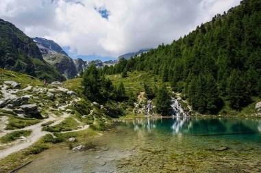 Lac Bleu.