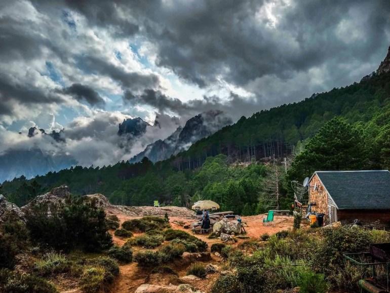 View of Refuge d' I Paliri.