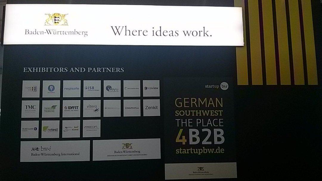 Baden Wuerttemberg Where ideas work companys - CEBIT 2018