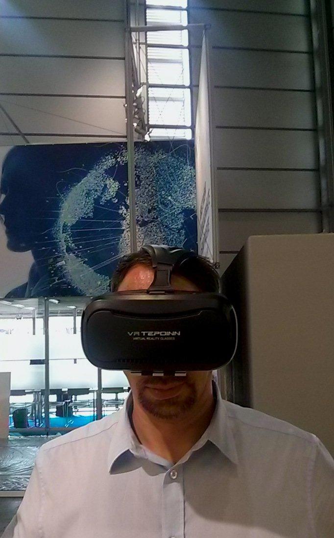 CEBIT 2018 MST mit VR Brille - CEBIT 2018