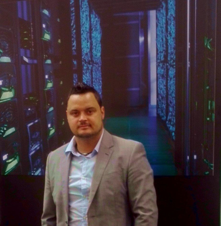CEBIT 2018 PC Server Raum - CEBIT 2018