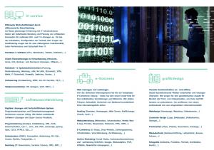 TMC SOLUTION Broschüre Rückseite